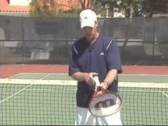 Learn to play Tennis - lesson #1: The propers grip.wmv - YouTube