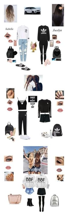 """""""Bestie collection!💕"""" by sabellacunningham ❤ liked on Polyvore featuring Topshop, adidas, Casetify, Belkin, IMoshion, Royce Leather, P. Sherrod & Co., Boohoo, adidas Originals and BP."""