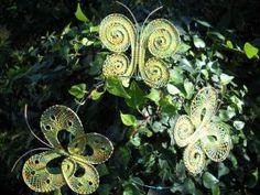 3 vlinders knutselen