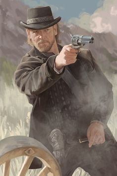 Kai Fine Art is an art website, shows painting and illustration works all over the world. Western Games, Western Movies, Character Portraits, Character Art, Westerns, Caricatures, Cowboy Images, West Art, Cowboy Art
