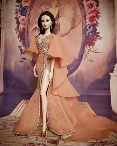 Image may contain: 2 people Top Model Fashion, Fashion Shoot, Barbie Gowns, Barbie Dress, Modern Filipiniana Gown, Caribbean Carnival Costumes, Brat Doll, Pretty Dolls, Western Dresses