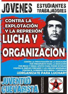 Afiche y volante con el cual saldremos a la calle. ¡Contra la explotación y represión, LUCHA Y ORGANIZACIÓN!