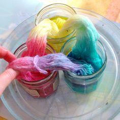 free tutorial -come tingere il filato di lana in casa