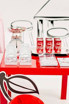 "Favors from a ""Cherry on Top"" Soda Shop Birthday Party on Kara's Party Ideas | KarasPartyIdeas.com (34)"