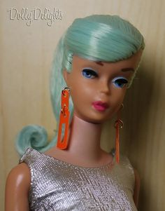 Repro Jewelry -  Zokko Earrings Made For Vintage Barbie *Repro Jewelry
