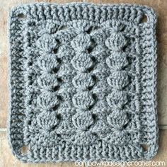 Crochet...Learn the Chinese Puzzle Stitch