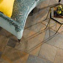Piastrella da pavimento / in gres porcellanato / a rilievo / aspetto pietra
