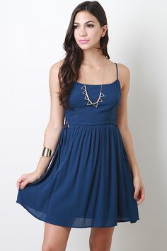 Corset Side Dress