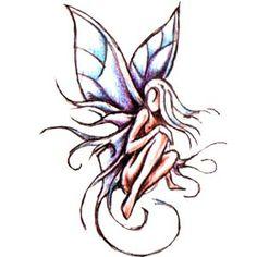 Fairy.(design)  #tattoo #tat #ink