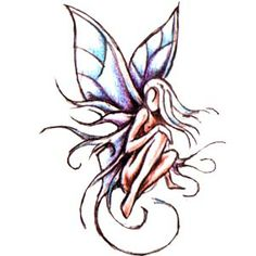 Fairy.(design)  #tattoo #tat #ink