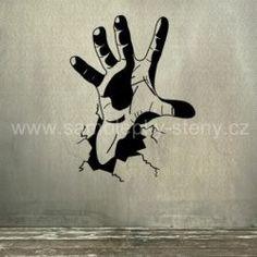 samolepka ruka