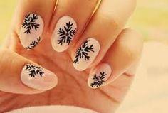 Znalezione obrazy dla zapytania paznokcie śnieżynki