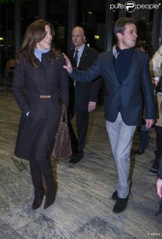24 January 2012 - Visiting Princess Marie & Newborn Princess Athena