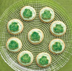 Charming cookies are your luckiest charm for your St. Patrick's Day party. www.pamperedchef.biz/bryanredd ~ Independent Consultant