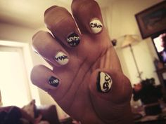 nail art 5 seconds of summer Nails 5 seconds of summer 5 seconds of summer nail ideas - Nail Ideas 5 Seconds Of Summer, Makeup Trends, Beauty Trends, Yellow Butterfly Meaning, Diy Crafts Easy To Make, Peaky Blinder Haircut, 5sos Nails, Nail Art Images, Hair Color Highlights