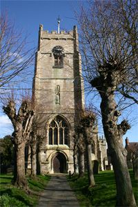 St Michaels church in Highworth, Wiltshire, England