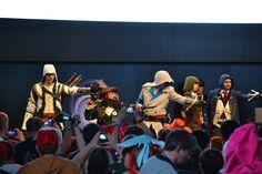Ubisoft-Stage: Ubisoft Cosplay-Wettbewerb 2014