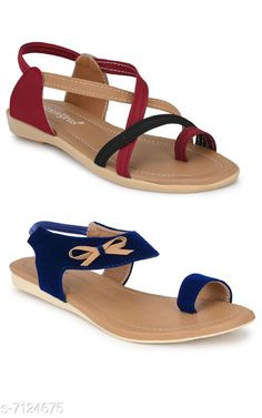 Heels & Sandals Women Sandal Combo Pack Material: Synthetic Sole Material: TPR Pattern: Solid Multipack: 2 Sizes:  IND-7 IND-6 IND-8 IND-5 Country of Origin: India Sizes Available: IND-8, IND-5, IND-6, IND-7   Catalog Rating: ★4.2 (3102)  Catalog Name: Women Sandal Combo Pack CatalogID_1137367 C75-SC1062 Code: 944-7124675-999