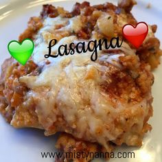 Fit for Life: Lasagna 21 Day Fix Approved! www.mistynanna.com #21DayFix #Recipes