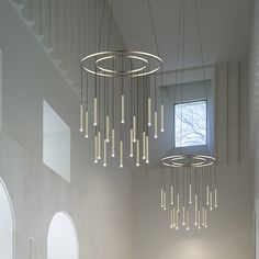 Candle Chandelier in Situ