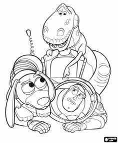 Toy Story (Woody and Jessie) | The Ultimate Coloring Book ...