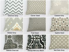 Pillow Covers-131 Beautiful Fabric Choices! | Jane
