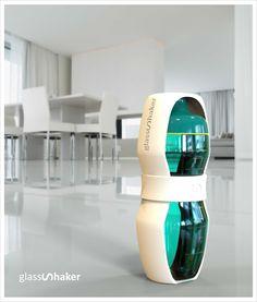 Gesundheit wählen, wechseln Sie zum GlassShaker für die vorbereitung und Lagerung von Getränken mit einer praktischen Messskala und langen Lebensdauer