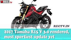 2017 Yamaha R15 V 3.0 rendered most sportiest update yet ll latest automobile news updates