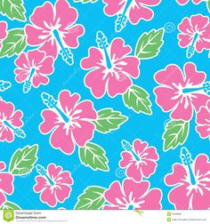 Seamless Hibiscus Pattern - Download From Over 53 Million High Quality Stock Photos, Images, Vectors. Sign up for FREE today. Image: 3450828