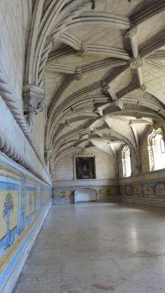 Le refectoire du monastère des Hiéronymites - blog Bar à Voyages #portugal #belem #patrimoine #heritage #monastere #monastry #refectoire #jeronimos