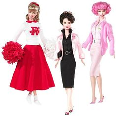 Grease Barbie Dolls - Grease Movie Gifts - http://www.mommytodaymagazine.com/celebrations/gift-ideas/grease-barbie-dolls/