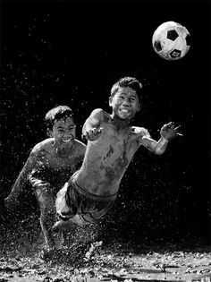 I could really go for a game of Soccer in the mud... The best kind!