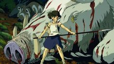 Princess Mononoke Princess Mononoke Characters, Sac Tods, Mononoke Cosplay, Film D'animation, Ghibli Movies, Bleach Anime, Wonder Woman, Hayao Miyazaki, Manga