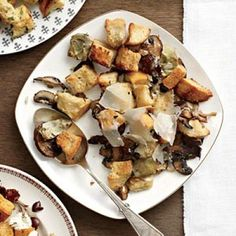 Mushroom-Artichoke Stuffing | CookingLight.com