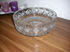 Große Kristall Schale Schüssel DM 20 cm aus Omas Vitrine