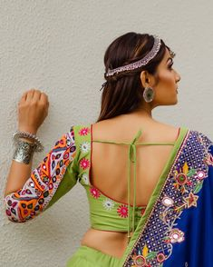 Image may contain: one or more people Designer Bridal Lehenga, Bridal Lehenga Choli, Casual Clothes, Casual Outfits, Clothes For Women, Indian Designer Outfits, Indian Outfits, Chanya Choli, Navratri Dress