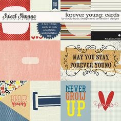 Forever Young: Cards by Studio Basic and Amanda Yi