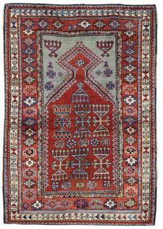 A Yurak prayer rug East Anatolia, 5 ft 1 in x 3 ft 6 in (155 x 107 cm)