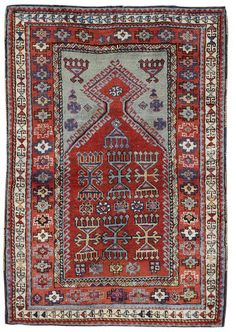 A Yurak prayer rug East Anatolia, 5 ft 1 in x 3 ft 6 in (155 x 107 cm)
