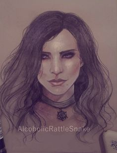 Yennefer by AlcoholicRattleSnake.deviantart.com on @DeviantArt