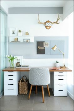Having a difficult time working from home? Here's what you can do to have a productive home office...