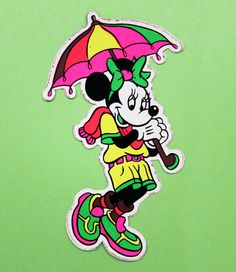 Teenage Neon All-Weather Minnie Mouse Bootleg (plus it's gross)