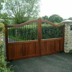 Ahşap Bahçe Kapısı Model 231