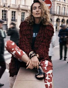 andreea, diaconu, by, benny, horne, for, vogue, spain, february, 2015, oracle, fox, fashion, editorial