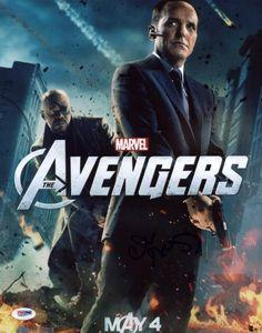 Clark Gregg The Avengers Signed Authentic 11X14 Photo PSA/DNA #X31077