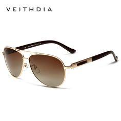 VEITHDIA Polarized Brand Mens Sunglasses Fashion Driving Sun glasses Eyewear Accessories For Men oculos de sol masculino 3250
