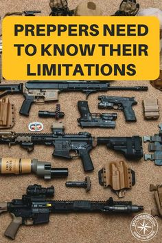 Preppers Need to Know Their Limitations