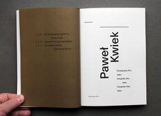 Pawel Kwiek book : FONTARTE :: fonts :: design