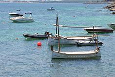 Mallorca Alcanada boans sea Майорка Альканада море лодки