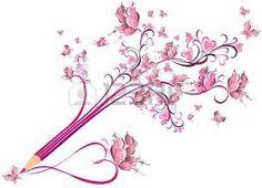 Znalezione obrazy dla zapytania rysunek ołówkiem kwiaty